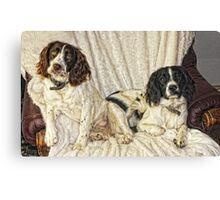Benson and Jess  Canvas Print