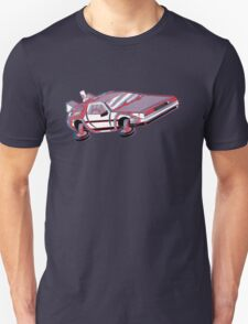 3-Delorean T-Shirt