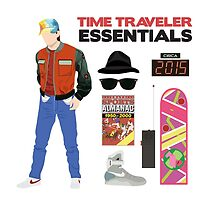 Back to the Future : Time Traveler Essentials 2015 by amandaweedmark