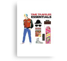 Back to the Future : Time Traveler Essentials 2015 Canvas Print