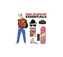 Back to the Future : Time Traveler Essentials 2015 Photographic Print