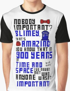 900 Years of Time and Space Graphic T-Shirt