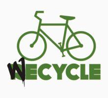 We Cycle Baby Tee