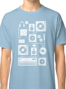 Four To The Floor - Teal Classic T-Shirt