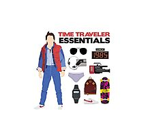 Back to the Future : Time Traveler Essentials 1985 Photographic Print