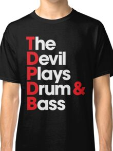 The Devil Plays Drum & Bass Classic T-Shirt
