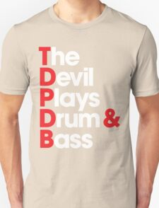 The Devil Plays Drum & Bass Unisex T-Shirt