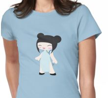 Kawaii Girl1 Womens Fitted T-Shirt