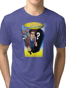 Ood, Where's My TARDIS? Tri-blend T-Shirt