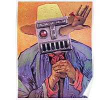 Stigmata of a Robot. Poster