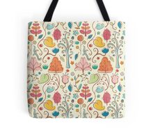 Plant Pattern Color 3 Tote Bag