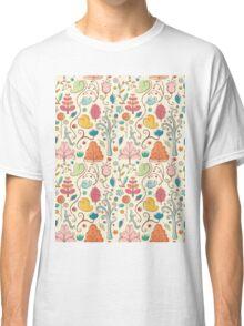 Plant Pattern Color 3 Classic T-Shirt