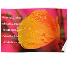 Believeth All Things Poster
