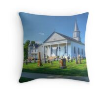 Saint Marys Roman Catholic Church Throw Pillow