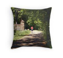 The Jogger Throw Pillow