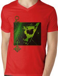 PAPA THE LIZARD KING Mens V-Neck T-Shirt