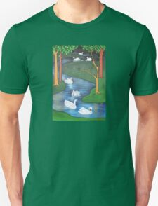 A Flock of Seven Swans-A-Swimming ..... T-Shirt