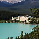 Fairmont Chateau Lake Louise by Charles Kosina