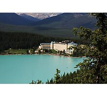 Fairmont Chateau Lake Louise Photographic Print