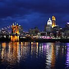 Storm Over Cincinnati by Tony Wilder