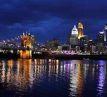 Storm Over Cincinnati by Tony Wilder