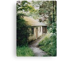 Cottages in Bath, England Canvas Print
