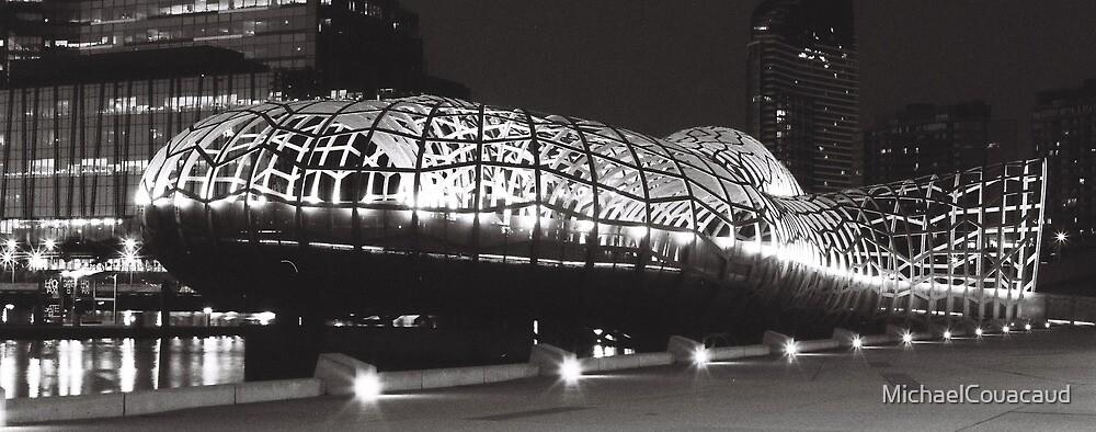 Bridge At Night II by MichaelCouacaud