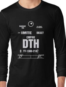 Docking Bay 327 DTH Luggage Tag Long Sleeve T-Shirt