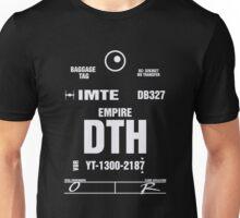Docking Bay 327 DTH Luggage Tag Unisex T-Shirt