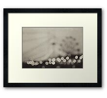 one night in june Framed Print