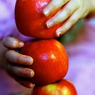 Apple Stacking by Debbie-anne