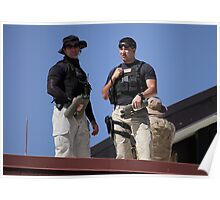 Secret Service Roof Security Poster