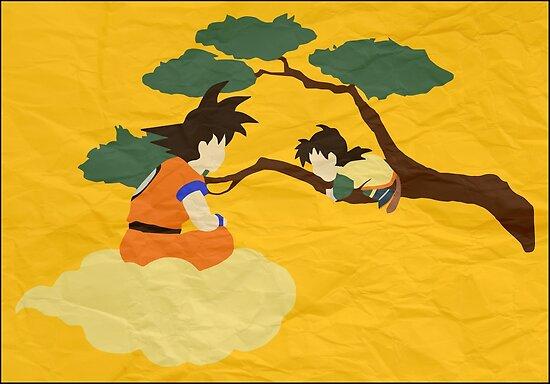 Father and Son (paper) by mayumiku