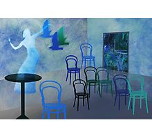 Dancing in a Cafe Photographic Print