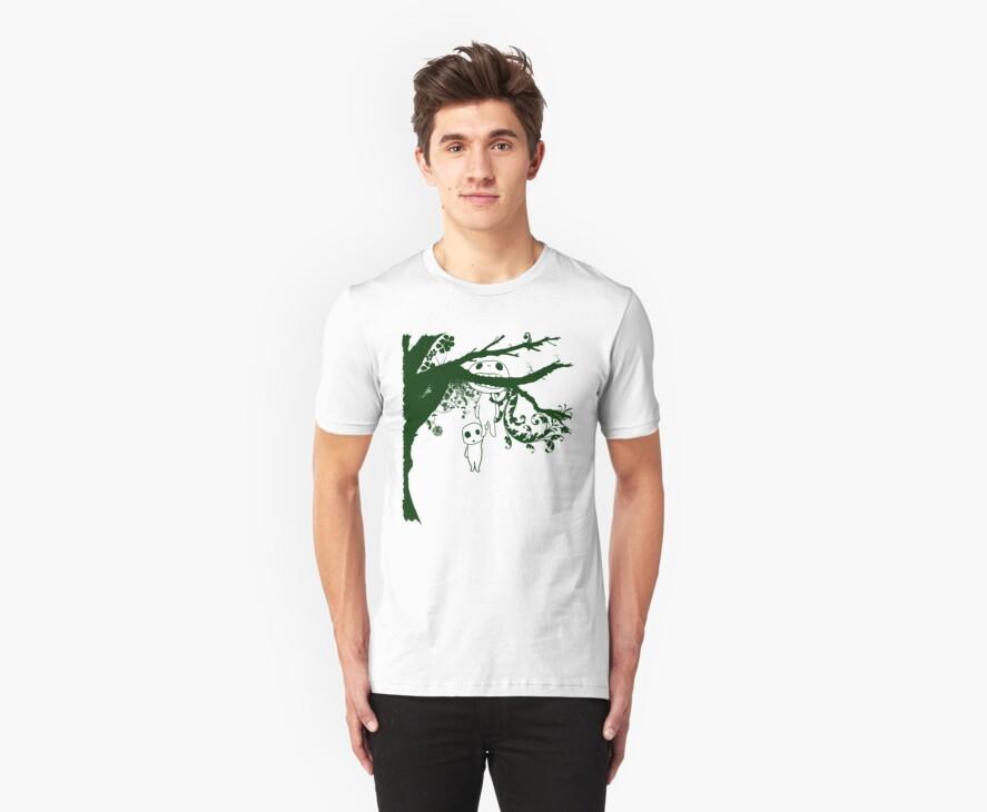 Kodoma Tree Spirit by Crocktees