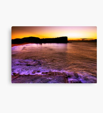 Sunrise Avalon BEACH SYDNEY'S Northern Beaches Canvas Print