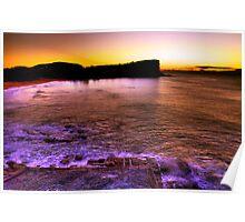 Sunrise Avalon BEACH SYDNEY'S Northern Beaches Poster
