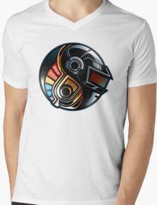 Daft Yin-Yang Mens V-Neck T-Shirt