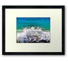 ocean dance Framed Print