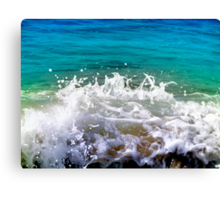 ocean dance Canvas Print