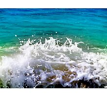 ocean dance Photographic Print