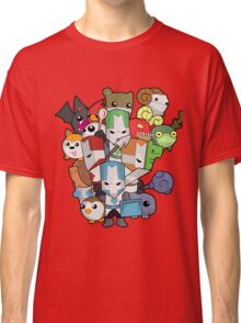 Castle Crasher Knight and Pets Classic T-Shirt