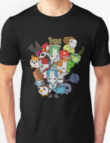 Castle Crasher Knight and Pets T-Shirt