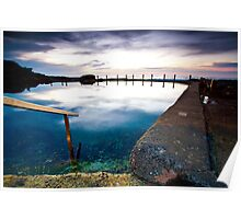Mahon Pool early winters morning Poster
