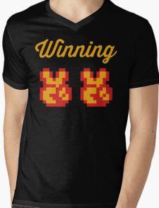 Street Fighter #Winning Mens V-Neck T-Shirt