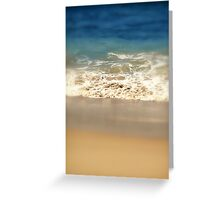 seashore Greeting Card