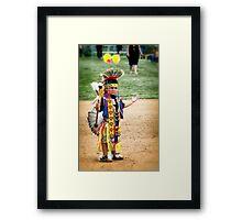 Future Champion Framed Print