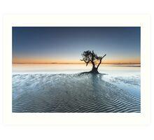 """Singularity"" ∞ Nudgee Beach, QLD - Australia Art Print"