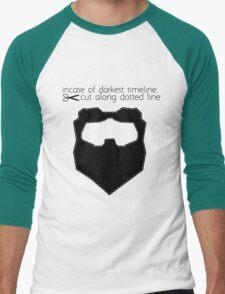 Incase of darkest timeline: Men's Baseball ¾ T-Shirt