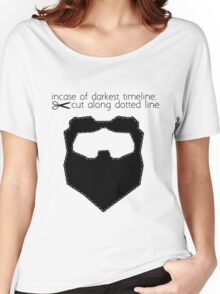 Incase of darkest timeline: Women's Relaxed Fit T-Shirt